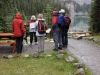 Michale Lang introducing Art Hike at Lake O\'Hara, Richard Lang, photographer