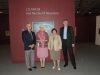 Phil Taylor, Michale Lang, Adriana Davies & Chris Taylor at J. B. Taylor Exhibit Opening
